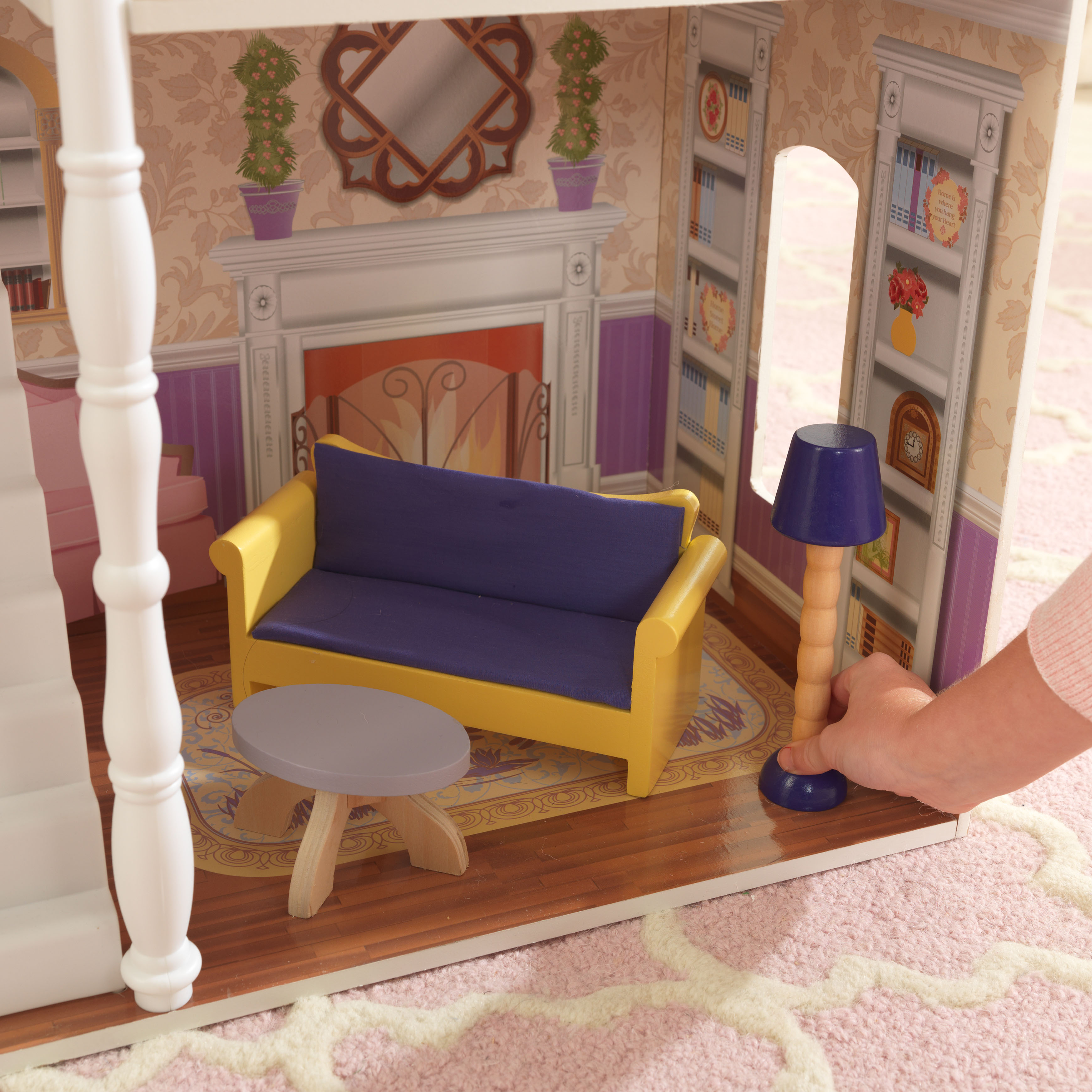 KidKraft Savannah Dollhouse with 13 accessories included Walmart
