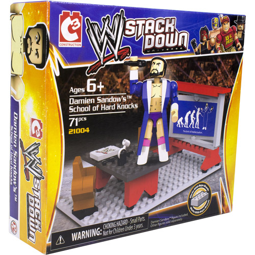 WWE StackDown Damien Sandow's Wrestling 101 Playset