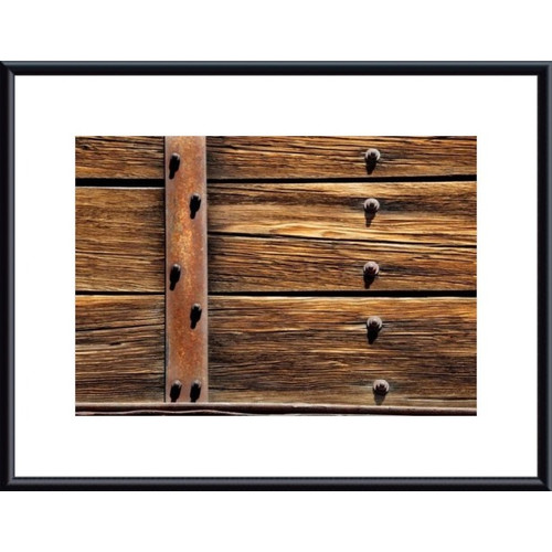 Printfinders Metal, Wood and Nuts by John K. Nakata Framed Photographic Print