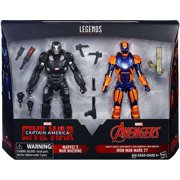 Marvel Legends War Machine & Iron Man Mark 27 Action Figure 2-Pack
