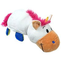 FlipaZoo The 16 Pillow with 2 Sides of Fun for Everyone - Each Huggable FlipaZoo character is Two Wonderful Collectibles in One (Unicorn / Dragon)