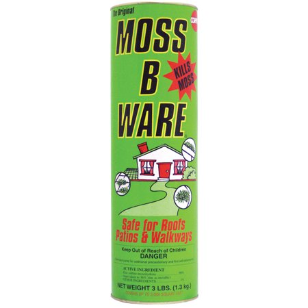 Lilly Miller Moss B Ware Powder Canister Moss Killer, 3 lbs (Lilly Bumper)