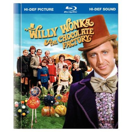 Willy Wonka   The Chocolate Factory  Blu Ray Book   Widescreen