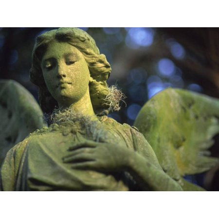 Angel of Mercy Statue Print Wall Art By Robin Hill