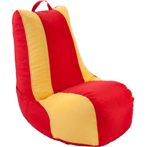 Ace Bayou 2-Color Video Beanbag Chair, 6 cu ft, Multiple Colors