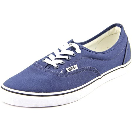ef9d564e21 Vans - Vans LPE Men Round Toe Canvas Blue Sneakers - Walmart.com