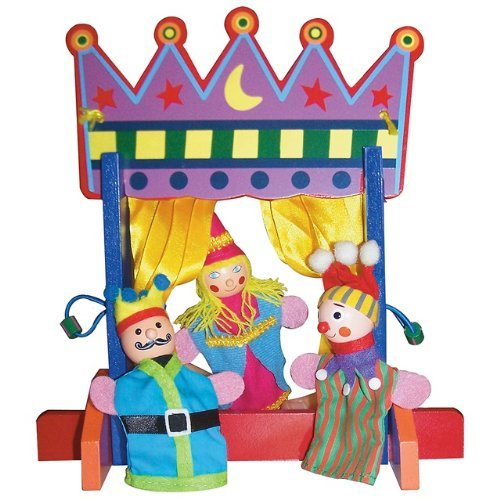 Sassafras Finger Puppet Theater Play Set