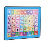 Dioche Baby Learning Tablet Toy, Children Touch Screen Learning English Machine Tablet Early Educational Toy