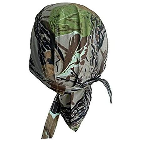 Camouflage Doo Rag Camo Leaf Moss Oak Skull Cap Bandana Headwrap Du Rag