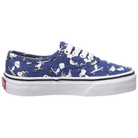 vans kids authentic (peanuts) snoopy/skating skate shoe 12 kids - Kids Vans Shoes