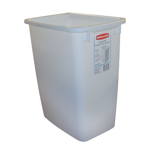 Rubbermaid 2806 WH Replacement Waste Bin, 36 Quart - White