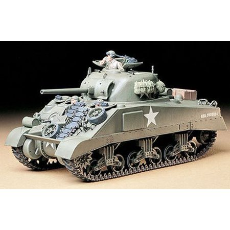 Us M4 Sherman Tank 1/35 Scale Plastic Model Kit