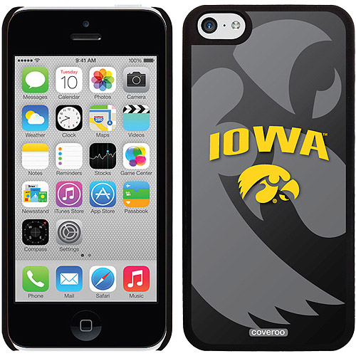 Iowa Watermark Design on iPhone 5c Thinshield Snap-On Case by Coveroo