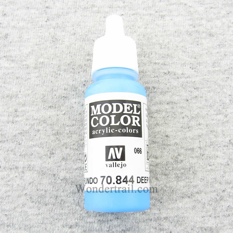 Deep Sky Blue Model Color Acrylic Paint 17ml (.57 Fl Oz) Bottle Vallejo Paints