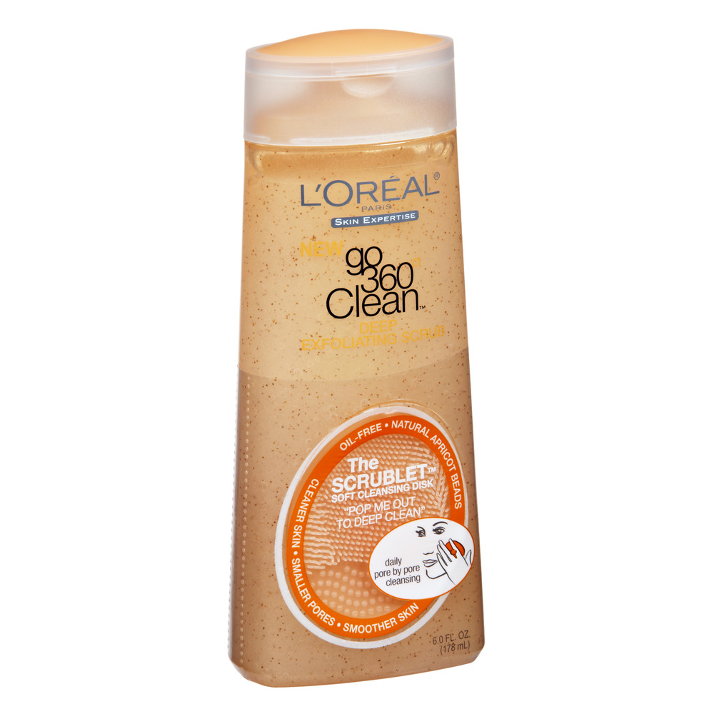 L'Oreal Paris Paris Go 360 Clean Deep Exfoliating Scrub with ...