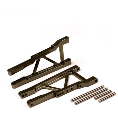 Alloy Front Lower Arm for Traxxas Slash 4X4, 1:10, Grey