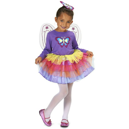 Neon Purple Butterfly Child Halloween Costume - Nekos Halloween