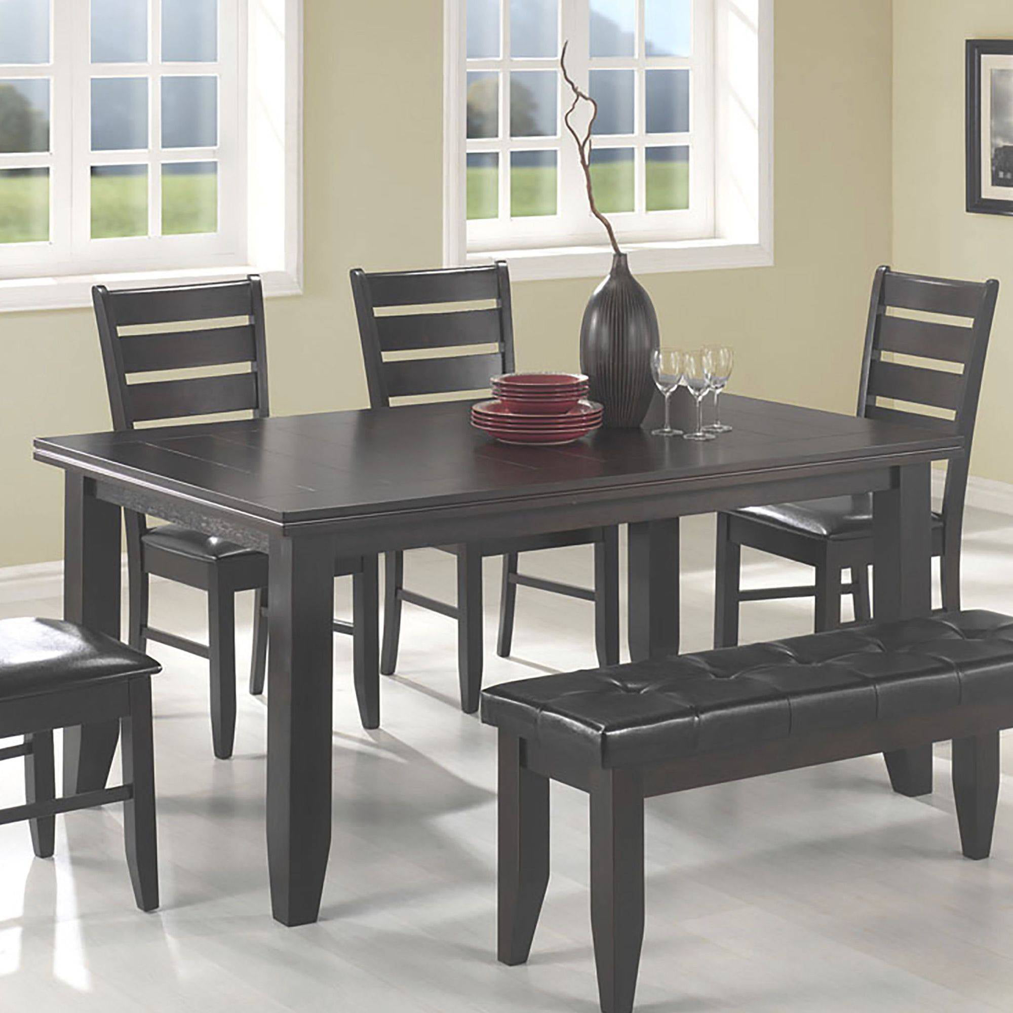 Delicieux Coaster Company Dalila Dining Table, Cappuccino (Chairs Sold Separately)    Walmart.com