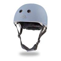 Kinderfeets Adjustable Kids Helmet Bundle with Balance Bike Tricycle, Slate Blue