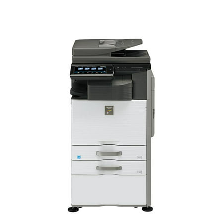 Refurbished Sharp MX-2640N A3 Color Laser Multifunction Copier - 26ppm, Print, Copy, Scan, Auto Duplex, Network, 2 Trays, Cabinet