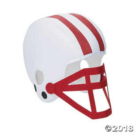 Football Helmet Cart - Burgundy Team Spirit Football Helmet
