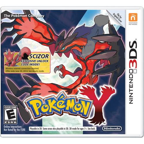 Pokemon Y - Wal-Mart Exclusive (Nintendo 3DS)