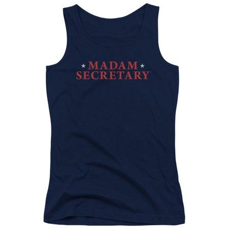 Madam Secretary Political Drama Series Logo Juniors Tank Top Shirt