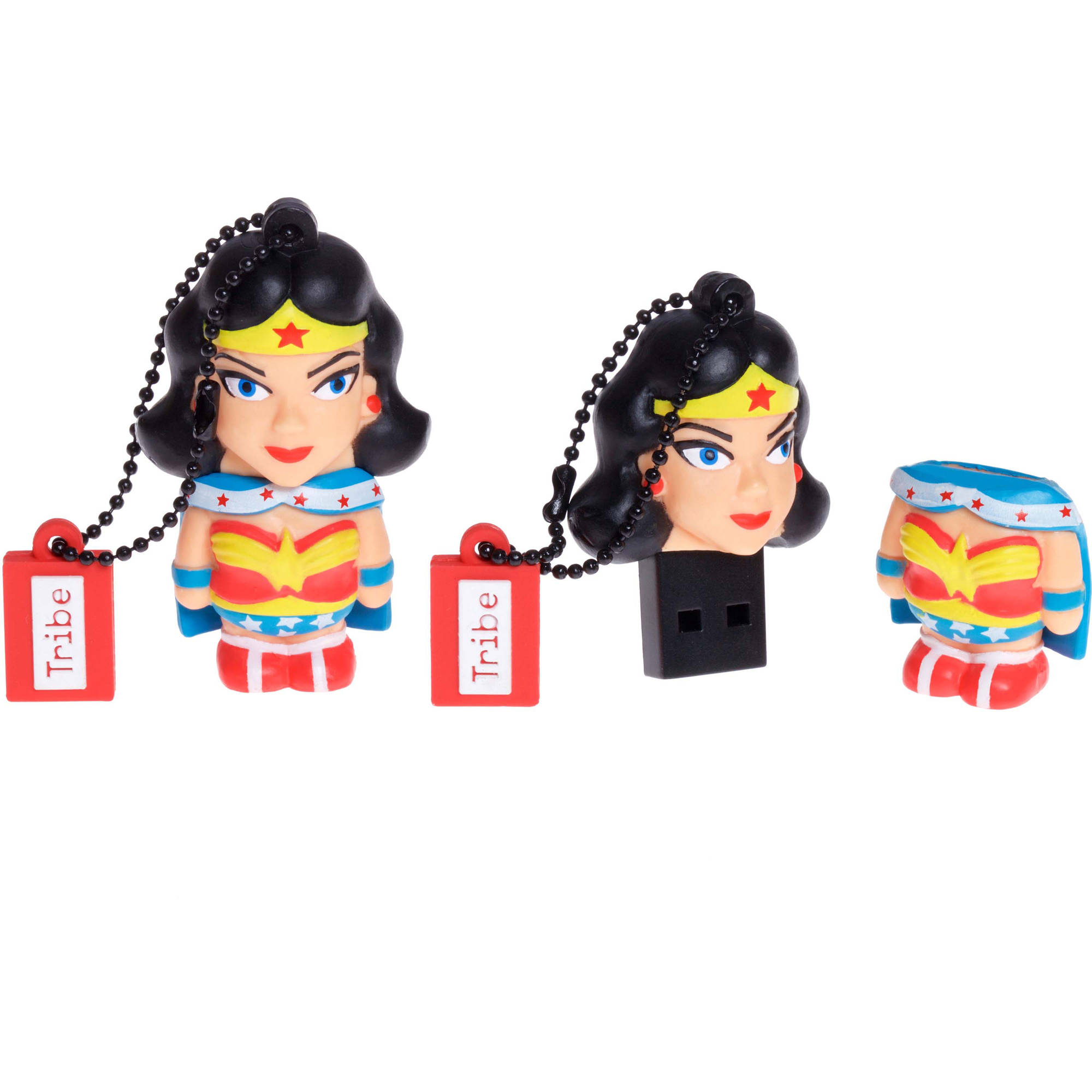 Tribe USB Flash Drive 16GB DC Wonder Woman Collectible Figure