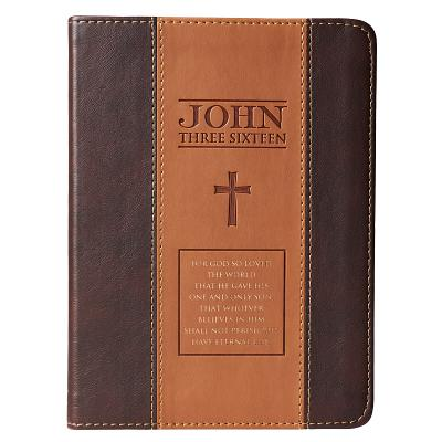 Journal Lux-Leather 2-Tone Tan