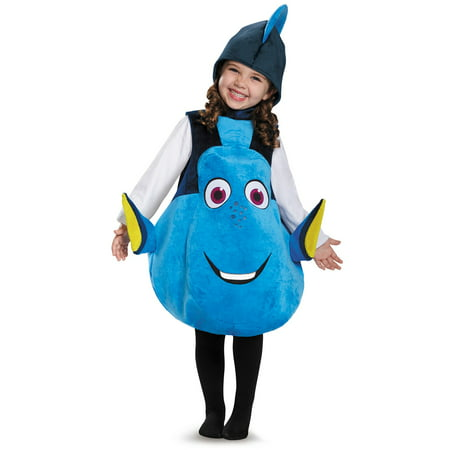 Finding Dory Deluxe Dory Toddler Costume - One Size - Dory Halloween Candy