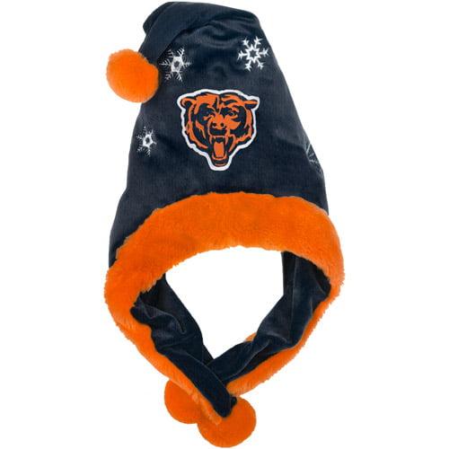 NFL Thematic Headwear Santa Hat, Chicago Bears