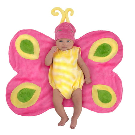 Swaddle Wings™ Beautiful Butterfly Caterpillar Halloween Costume](Caterpillar Costume Baby)