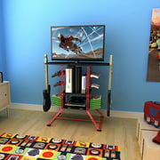 Atlantic Centipede Gaming Storage Center and TV Stand