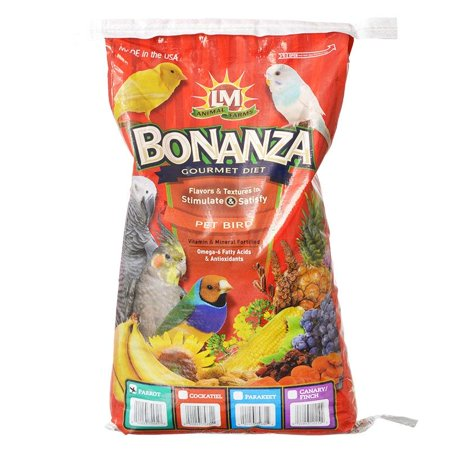 LM Animal Farms Bonanza Large Parrot Diet 20 lbs