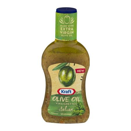 Kraft Salad Dressing Olive Oil Vinaigrettes Italian 14 Fl Oz