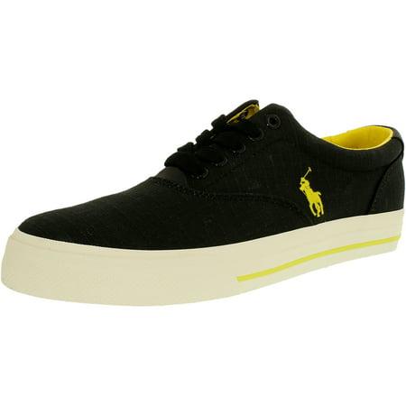327b85d46 Polo Ralph Lauren Men s Vaughn-Sk-Vlc Ripstop Ankle-High Leather Fashion  Sneaker