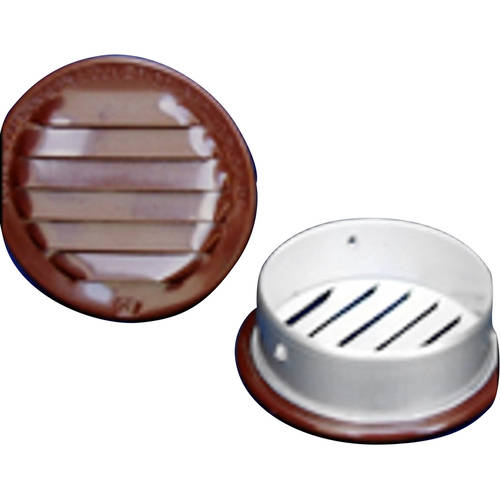 "Round Screened Vent, 1.5"", Pack of 6"