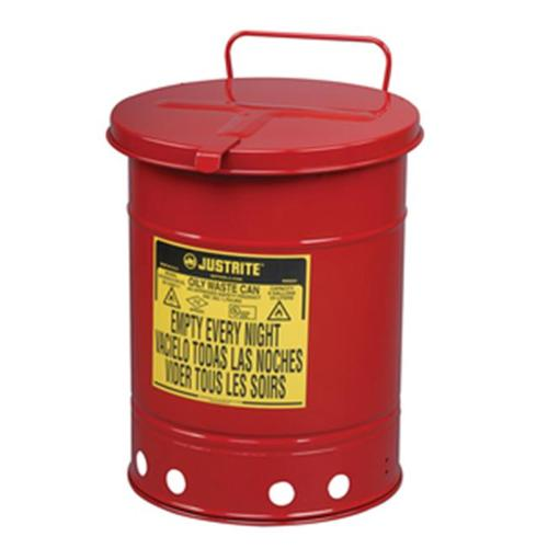 JustRite 21-Gal Oily Waste Cans