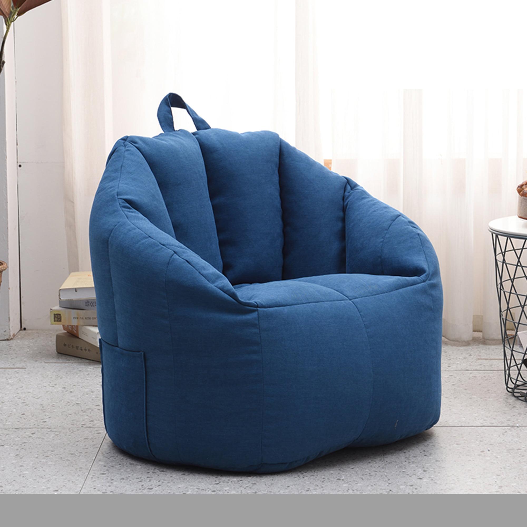 SAYFUT Extra Large Beanbag Cover Bean Bag Chair,Bean Bag ...