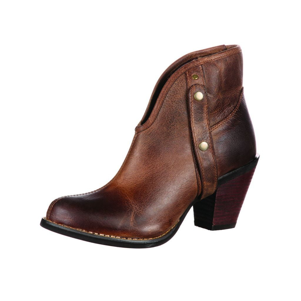 Durango Fashion Boots Womens Austin Changeable Shaft Brown DRD0058 by Durango