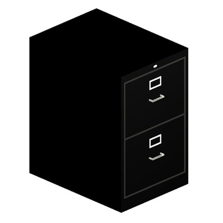 - Hon 510 Series Vertical File With Lock - 18.3
