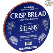 Siljans Crispbread, 14-Ounce Package (Pack of 11)