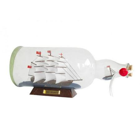 Hampton Glasses - HMS Bounty Model Ship in a Glass Bottle 11