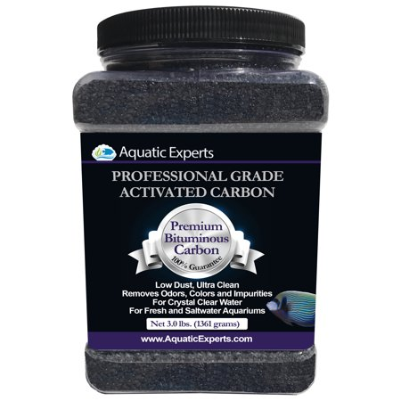 Premium Activated Carbon Aquarium Filter Charcoal Media - Remove odors - 3.0 (Canon Media)