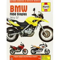 BMW F650 Singles, '94-'07