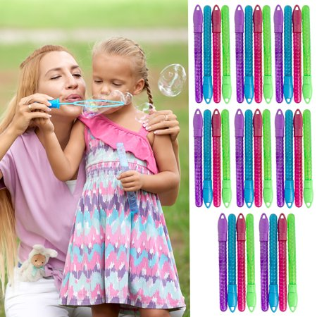 (32 Pack) Large Bubble Wands For Kids Bulk Party Favors Party Supplies Summer Fun Bubble Blower Toy](Party Favors In Bulk)