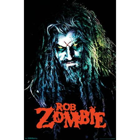 Rob Zombie - Hellbilly - Rob Zombie Halloween Poster