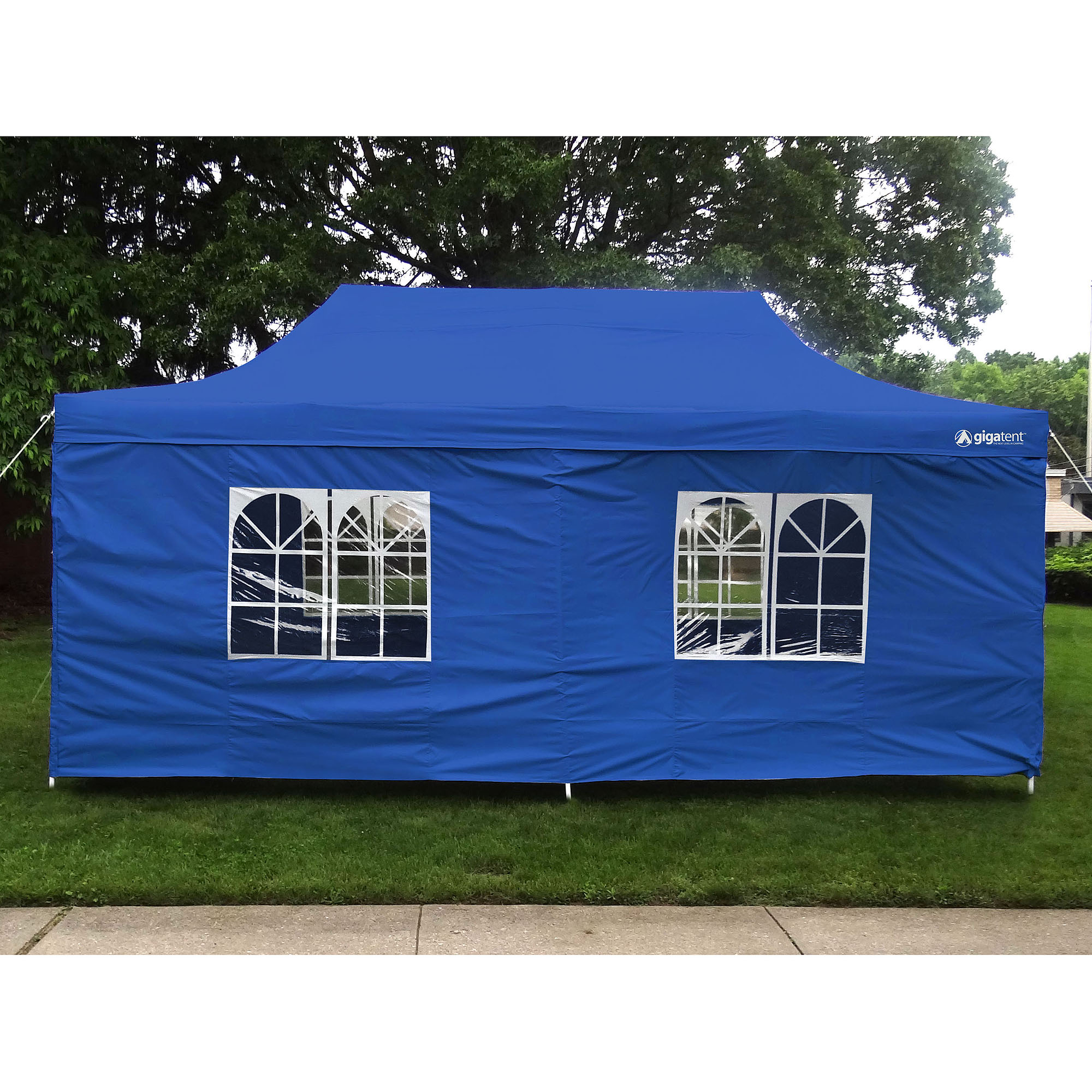 GigaTent The Party Tent Deluxe 10' x 20' Canopy, Blue