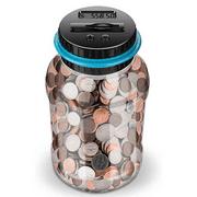 Digital Coin Money Counting Jar Piggy Bank Money Vault
