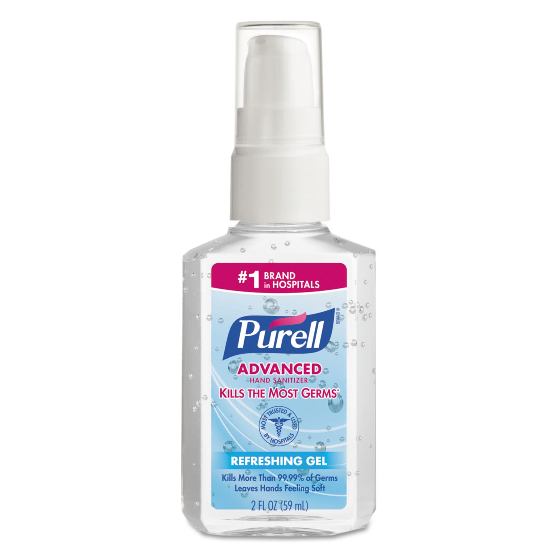 PURELL Advanced Instant Hand Sanitizer, 2 oz Personal Pump Bottle, 24pk